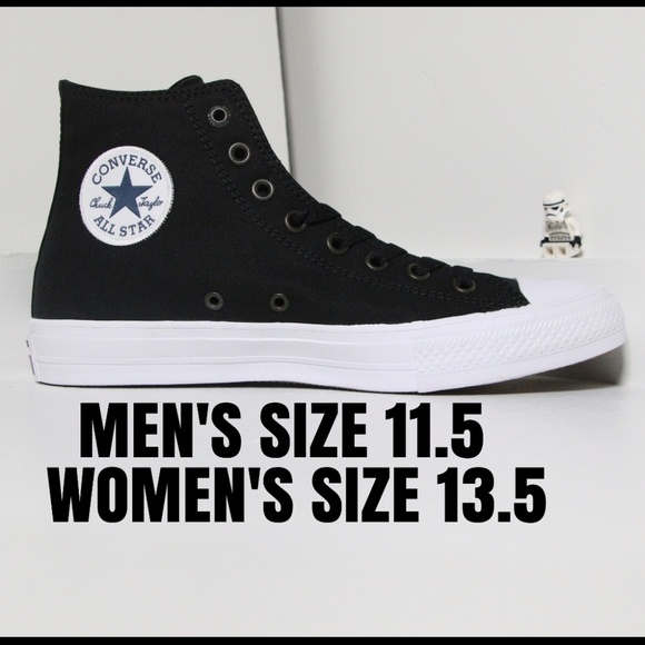 Converse Other - Converse Black Chuck 2 All Star High Top